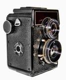 Câmera russian velha da foto fotografia de stock
