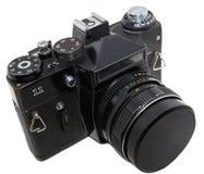 A câmera soviética velha Imagem de Stock