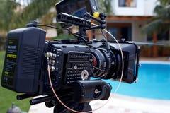 Câmera/tripé Imagens de Stock