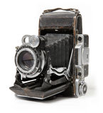 Câmera velha. Fotos de Stock