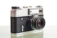 Câmera velha da foto Fotografia de Stock