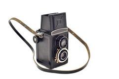 Câmera velha da foto Fotos de Stock Royalty Free