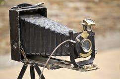 Câmera velha da foto foto de stock