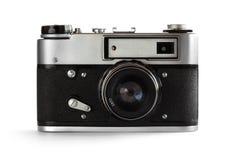 Câmera velha da foto (35 milímetros) Imagens de Stock Royalty Free