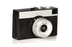 Câmera velha da foto da película de 35mm Imagens de Stock Royalty Free