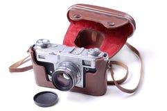 Câmera velha da película imagens de stock royalty free