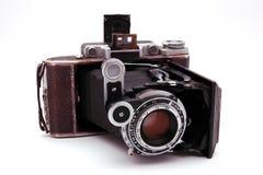 Câmera velha da rolar-película Imagens de Stock