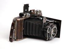 Câmera velha da rolar-película Fotografia de Stock