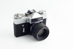 Câmera velha de 35 milímetros Fotos de Stock Royalty Free