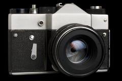 Câmera velha de SLR Imagem de Stock Royalty Free