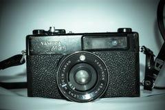 Câmera velha de Yashica MG-1 fotografia de stock