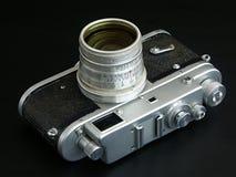 Câmera velha do filme Fotografia de Stock