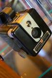 Câmera velha do filme Foto de Stock