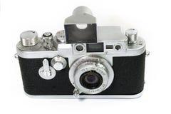Câmera velha do rangefinder isolada Imagem de Stock