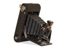 Câmera velha do ` 1920 s Fotografia de Stock