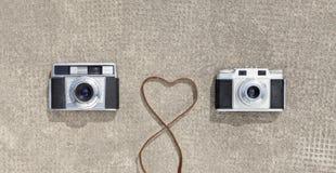 câmeras Imagens de Stock Royalty Free