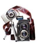 Câmeras? Imagens de Stock Royalty Free