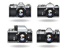 Câmeras análogas Foto de Stock