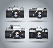 Câmeras de Analoque Imagem de Stock Royalty Free