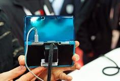 Câmeras de Nintendo 3ds 3d Fotos de Stock