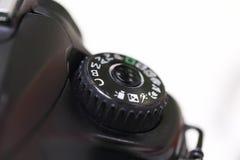 Câmeras de SLR fotografia de stock
