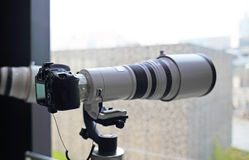 Câmeras de SLR Imagem de Stock Royalty Free