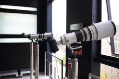 Câmeras de SLR Imagem de Stock