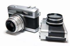 Câmeras velhas Imagens de Stock