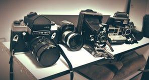 Câmeras velhas Imagem de Stock Royalty Free