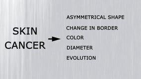 Câncer de pele Foto de Stock