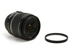 Cânone da lente foto de stock