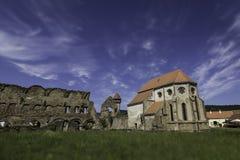 Cârța kloster i Rumänien Fotografering för Bildbyråer