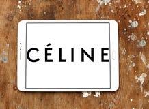 Céline märkeslogo Arkivbild