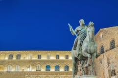 Còsimo di Giovanni degli Mèdici statue in Florence, Italy Stock Photos