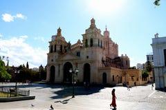CÃ ³ rdoba -阿根廷大教堂  免版税库存照片