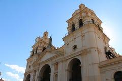 CÃ ³ rdoba -阿根廷大教堂  免版税库存图片