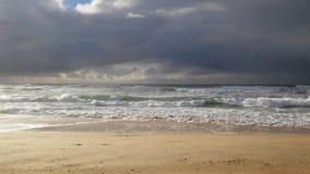 CÃ'te d ` Argent Francuski Atlantyk wybrzeże Fotografia Royalty Free