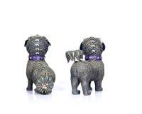 Cães chineses de Foo Imagem de Stock