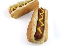 Cães quentes Foto de Stock Royalty Free