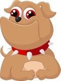Cão adorável dos desenhos animados Imagem de Stock