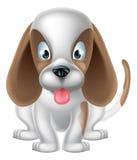 Cão bonito dos desenhos animados Imagem de Stock Royalty Free