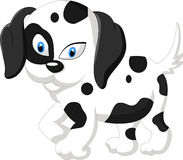 Cão bonito dos desenhos animados Imagem de Stock