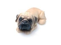 Cão cerâmico Fotografia de Stock Royalty Free