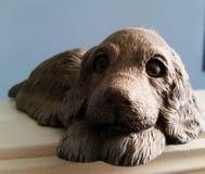 Cão da estátua Imagens de Stock Royalty Free