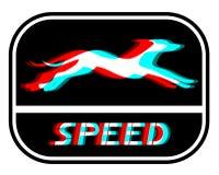 Cão da velocidade ilustração do vetor