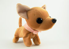 Cão de brinquedo macio Fotografia de Stock