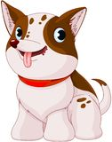 Cão de cachorrinho ilustração stock