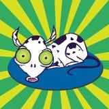 Cão de extraterrestre Imagem de Stock Royalty Free