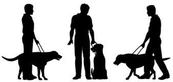 Cão de guia Foto de Stock Royalty Free