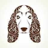 Cão decorativo decorativo Hound de Basset Imagens de Stock